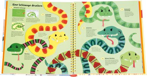 365 Ideen Zum Malen Und Zeichnen Malen Farbe Und Pinsel