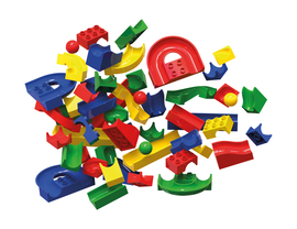 mobilo Konstruktions Set, 192 Teile Kinder Stecken