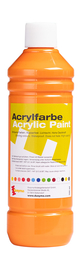 Acrylfarbe orange, 500 ml Artikelbild Vorderansicht M