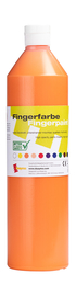 Fingerfarbe orange, 750 ml Artikelbild Vorderansicht M
