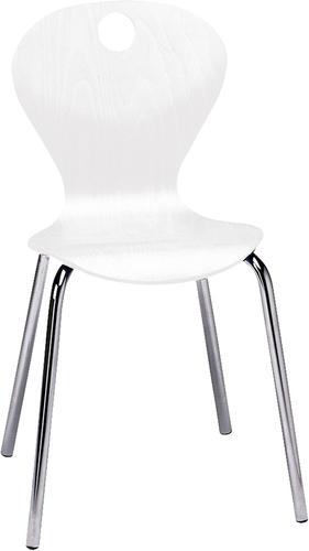 Joya Stuhl, Sitzhöhe 31 cm, Farbe weiß - Stühle, Sitzmöglichkeiten ...